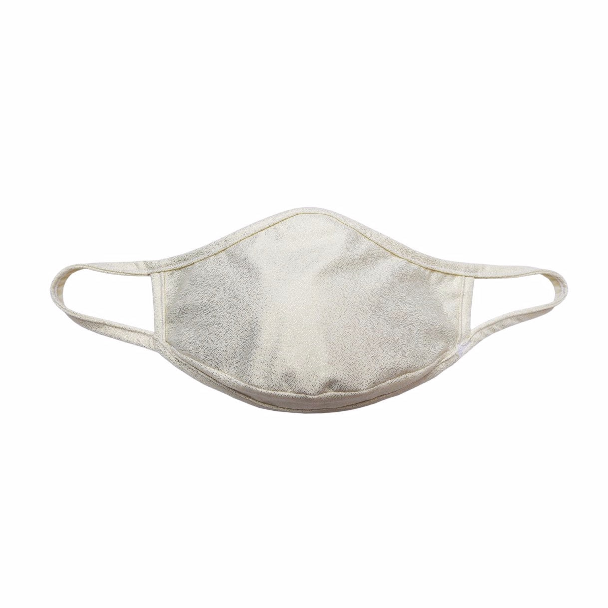 Ivory face mask with beautiful sparkle to it. Great for wedding face mask, bride face mask, or women face masks. Masquini face mask are unisex and an be worn by women or men. OSFM. Sold by SDTradiang Co.