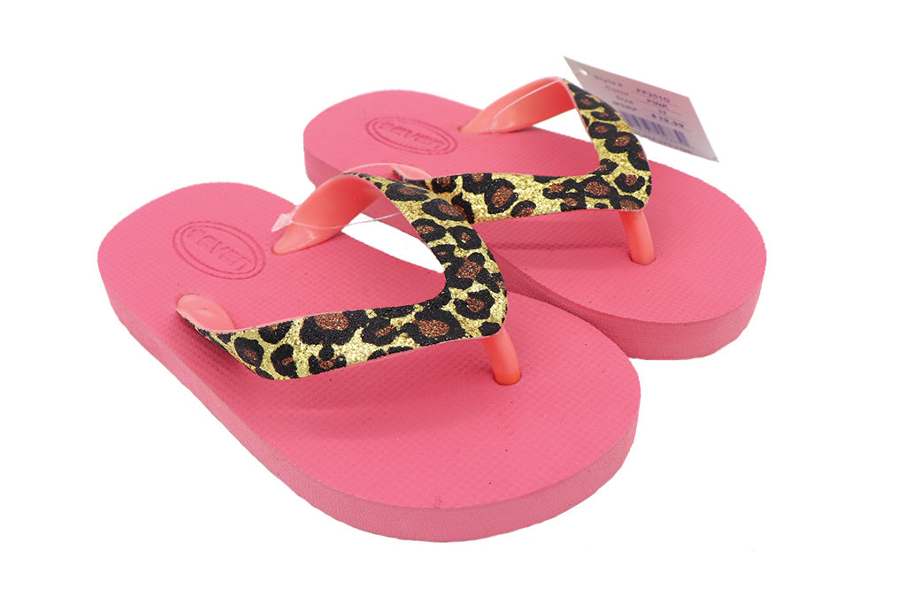 Girls Footwear : Flip Flop Sandals - Pink
