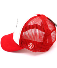 Kids Trucker Hat for your little future fire fighter. Red mesh hat with front foam printed with a fire truck engine and the words future fire fighter. A must for first responder fire fighter families. Great everyday, summer, beach, ocean hat for youth, boys, girls, and even toddler with snapback. Kids baseball hat Sold by SDtrading Co.