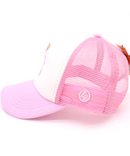 Girls pink hat for the youngest feminist in the family. Let your queen know that Girl's Rule the World with this hat featuring that message and a crown on a five panels, mesh, and snapback. Hat for everyday, summer, beach, ocean hat for youth, boys, girls, and even toddler with snapback. Kids baseball hat Sold by SDtrading Co.