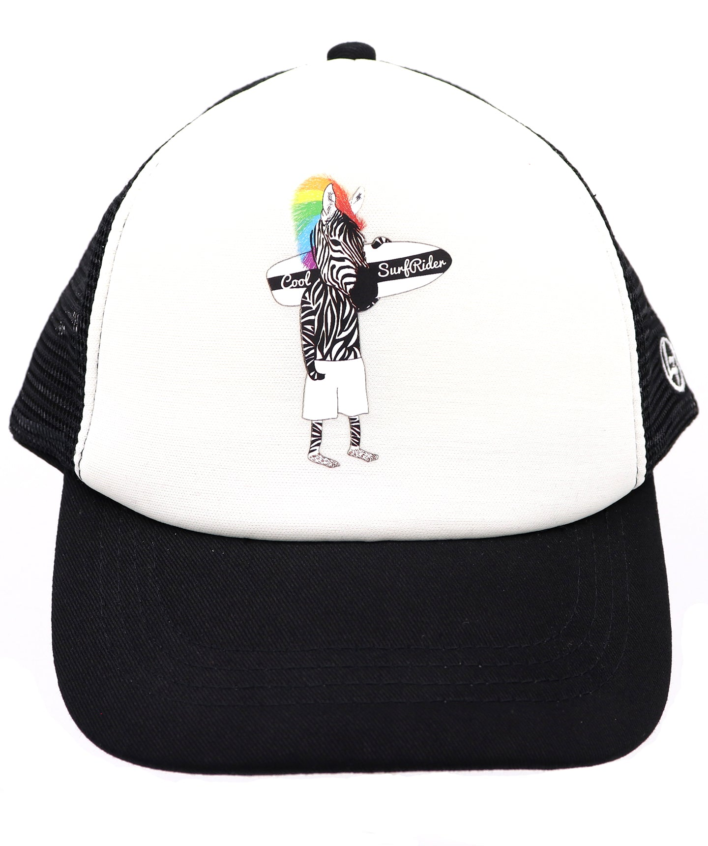 Youth Trucker Hat : Zebra Baseball Cap