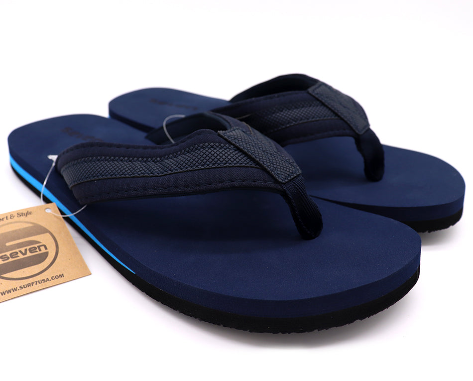 Men's sandals thong slip with comfort cushion sole. Shoe sandals for beach, pool, lake, summer and everyday. Men's shoe eight through thirteen. Color Navy. Shoe size 8, Shoe Size 9, Shoe Size 10, Shoe Size 11, Shoe Size 12, Shoe Size 13 Sold by SDTrading Co.