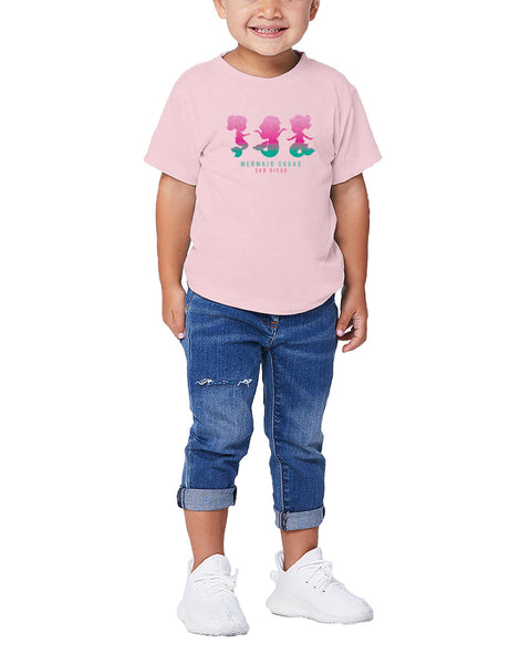 Mermaid Squad Toddler Tee
