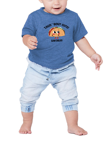 Taco Bout Cute Toddler Tee