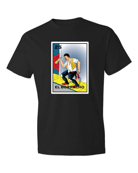 Loteria El Boracho shirt the heart graphic tee printed on a yellow card from the classic Mexican Loteria bingo game. Mexican shirts, Loteria Shirts sold by SDTradiang Co.
