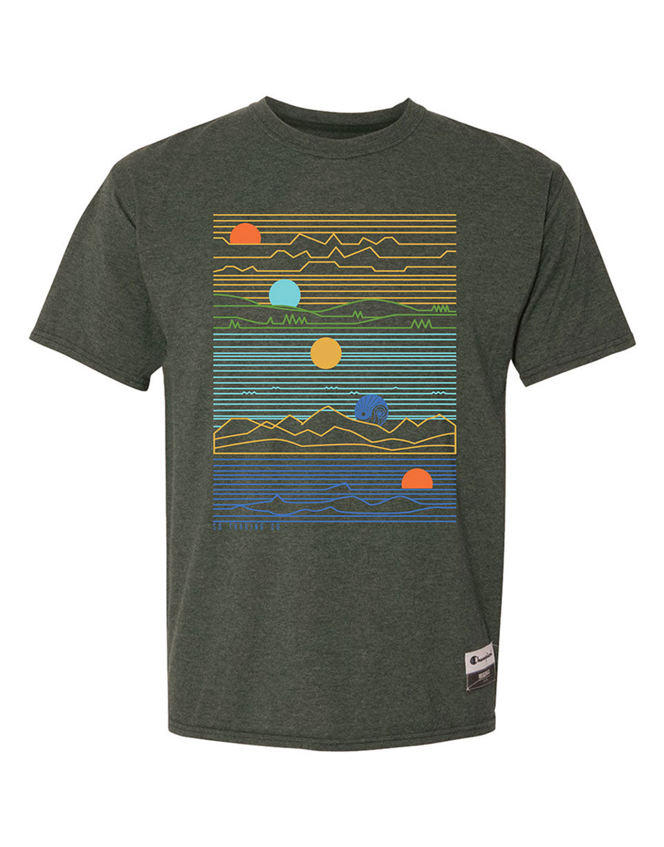 Champion® Time-Lapse Mens T-shirt