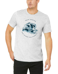 Men's Adult T-Shirt : Crashing Waves