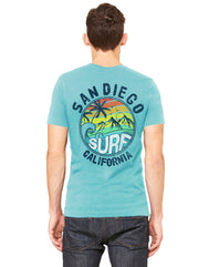 Surf California Men's Tee