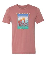 ISO Surf Mens T-shirt