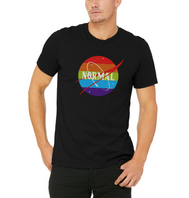 Normal Space Mens T-shirt