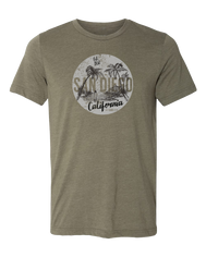 Surf Away Mens Tee