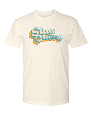 Stay Classy Men't Sueded Soft Tee, Ringspun Cotton, Natural, Sold by SDTrading Co, SDTC, San Diego Trding Company