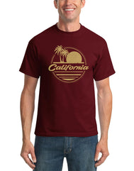Horizontal Cali Mens T-shirt