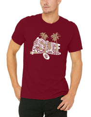 Socal Beaches Mens T-shirt