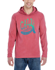 Life Style Long Sleeve Hooded Shirt