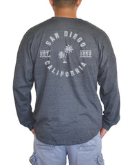 SD College Palm Long Sleeve t-shirt
