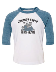 Journey of the Sub Youth Raglan tee