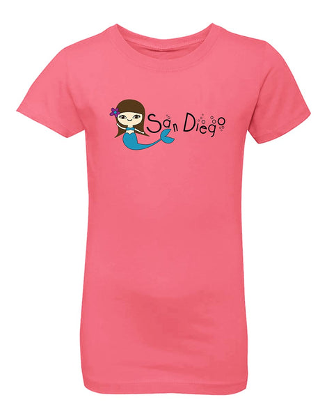 SD Mermaid Princess Cut Tee