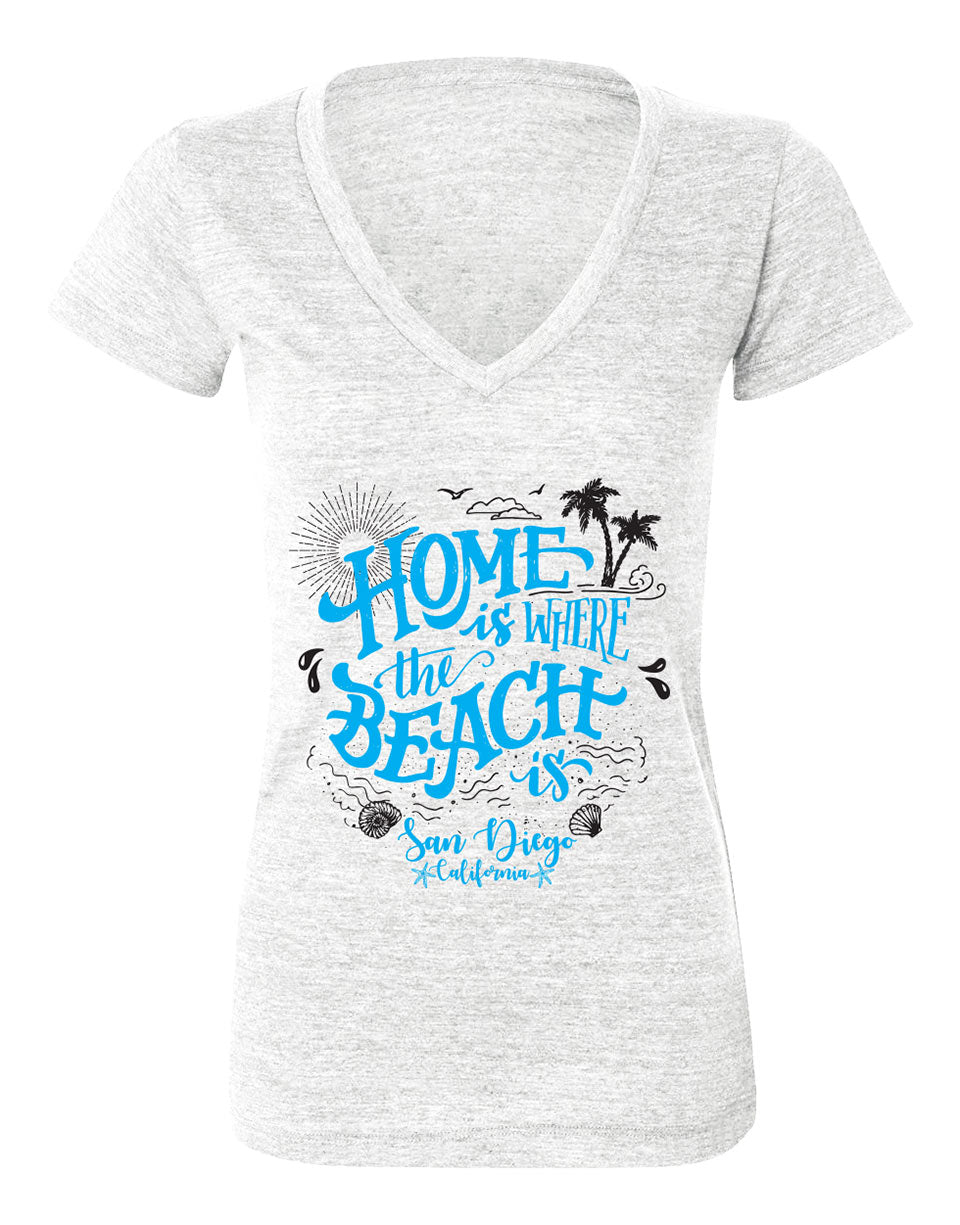 Home is Where the Beach Is Tee
