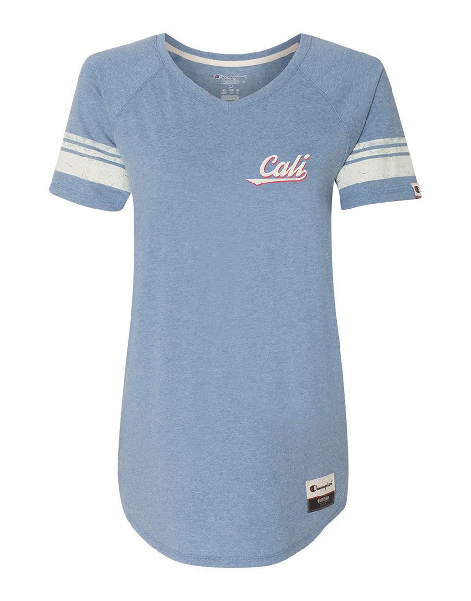Champion® Cali Womens V-Neck Tee