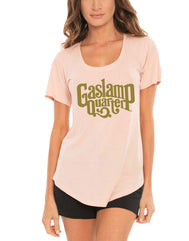 Gaslamp Quarter Shimmer Women's Scoop Neck