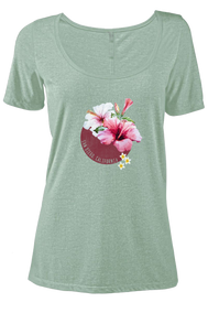 Calibiscus Womens Triblend Tee