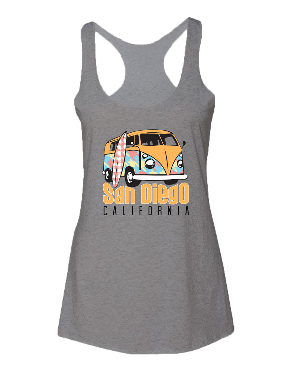 Kombi Patterns Womens Tank Top