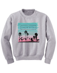 Chillin in Cali Youth Crew Neck Tee