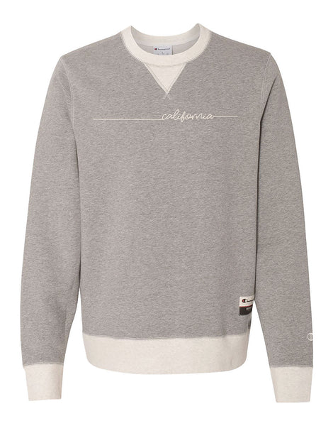 Champion® Cali Signature Mens Crewneck Sweatshirt
