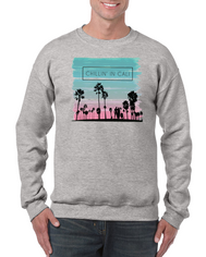 Chillin' In Cali Crewneck Sweatshirt