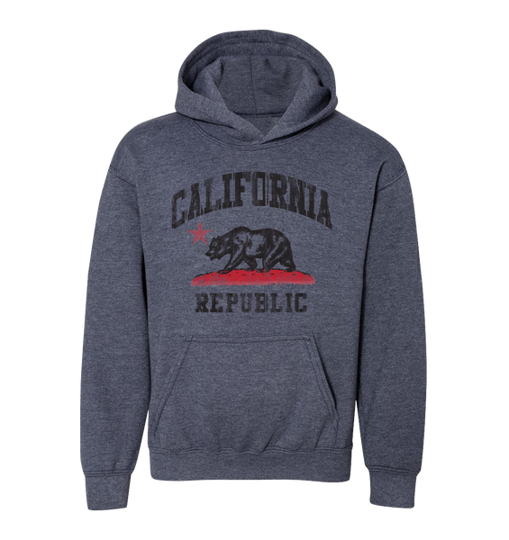 SD Retro Republic Youth Hooded Sweatshirt