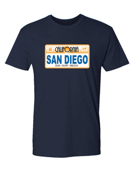 SD License Plate Tee