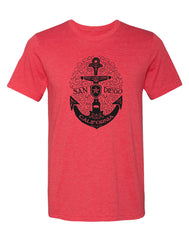 SD Scroll Anchor Tee