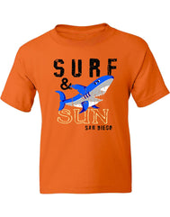 SD Surf and Sun Shark Tee