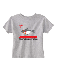 SD Shark Flag Toddler Tee