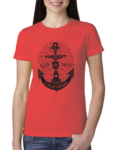 SD Scroll Anchor Crewneck Tee
