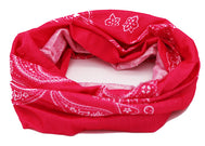Paisley Fuchsia pink face mask, protection, mask, covid, covid-19 protection, corona virus protection, corona virus, self protection, bandana, bandanas, bandana face mask, headscarf, bandana headscarf, paisley face mask, classic bandana face mask