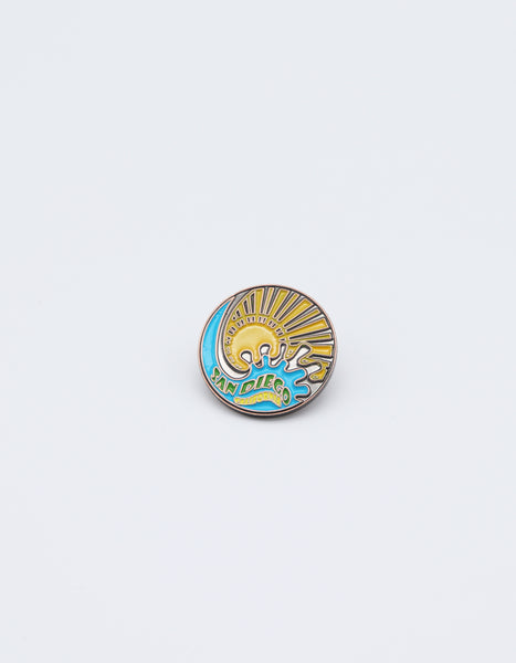 San Diego Splash & Sun Pin