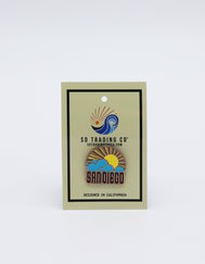 SUN & CLOUDS PIN