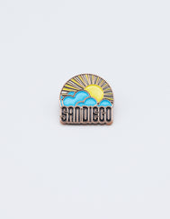 Sun & Cloud Pin