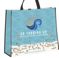 Tote Bag :  Summer Beach Reusable Tote