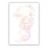 Attina Hologram Mermaid Sticker