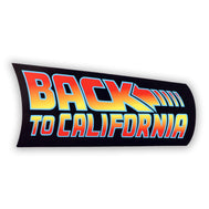 Back to California Sticker