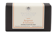 Bergamot & Geranium Natural Plant Oil Soap