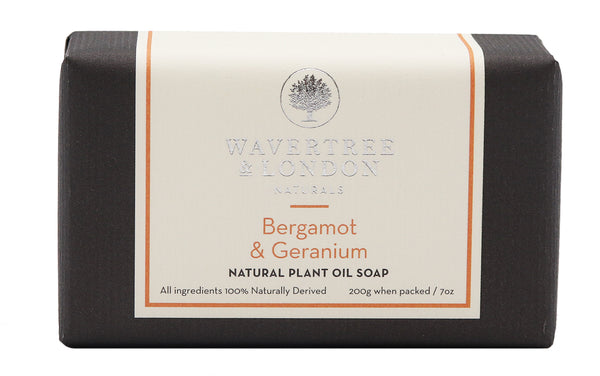 bergamot & geranium 100% Certified Sustainable pure plant oils and organic shea butter with no added color or artificial preservatives