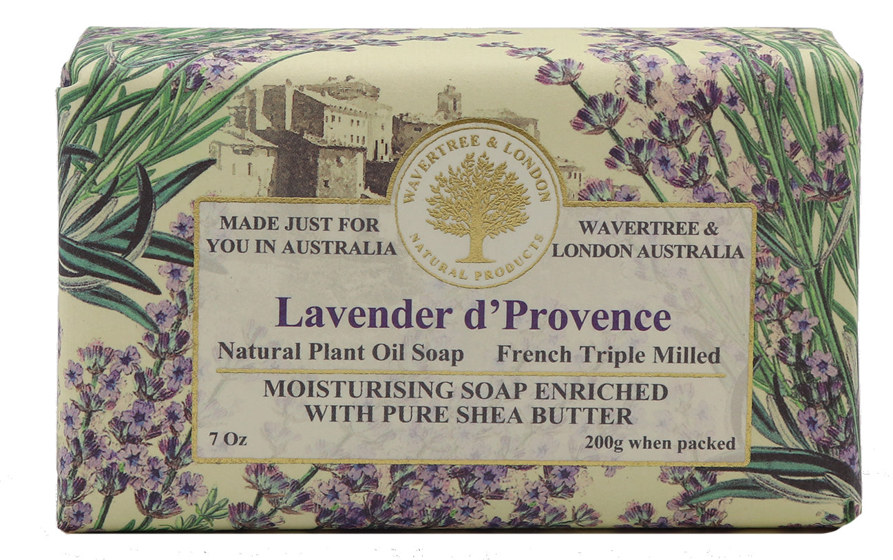 Lavender 100% Certified Sustainable pure plant oils and organic shea butter with no added color or artificial preservatives