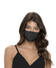 Black face mask. Stay protected with this fashionable multi use black midnight mask that goes  with all your outfits. Classic solid black mask Sold by SDTrading Co.