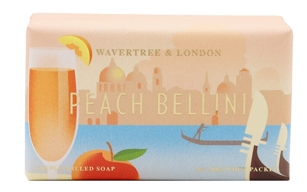 Peach Bellini Soap Australian made soaps No SLS, Parabens, detergents or harsh chemicals. Our moistuzing soap is mild and non-drying.