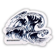 Wave Hunter Sticker