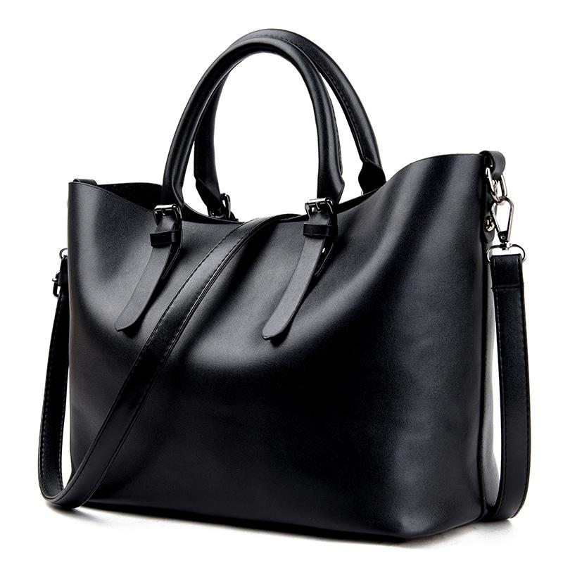 Faux Leather Daily Bag